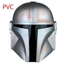 Película de Star Wars El mandaloriano Han Solo de látex PVC máscara de star wars casco hombres cosplay máscara accesorios de personajes Unisex