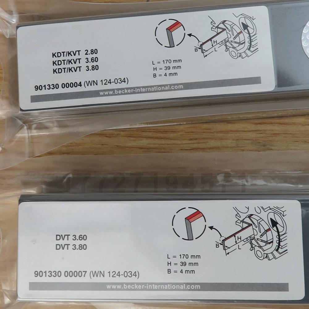 Vacuum pump carbon sheet original air pump scraper carbon chip air pump blade graphite sheet rotary vane accessories enlarge