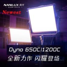 Nanguang NANLUX Dyno650C/1200C светодиод высокой мощности RGB Профессиональный шахматная доска светильник заполняющий светильник фильм светильник