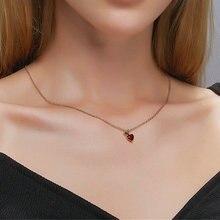 Belle pomme rouge collier pour femmes été fruit pendentif belle fille chaîne simple étudiant bijoux or décoration Gitf