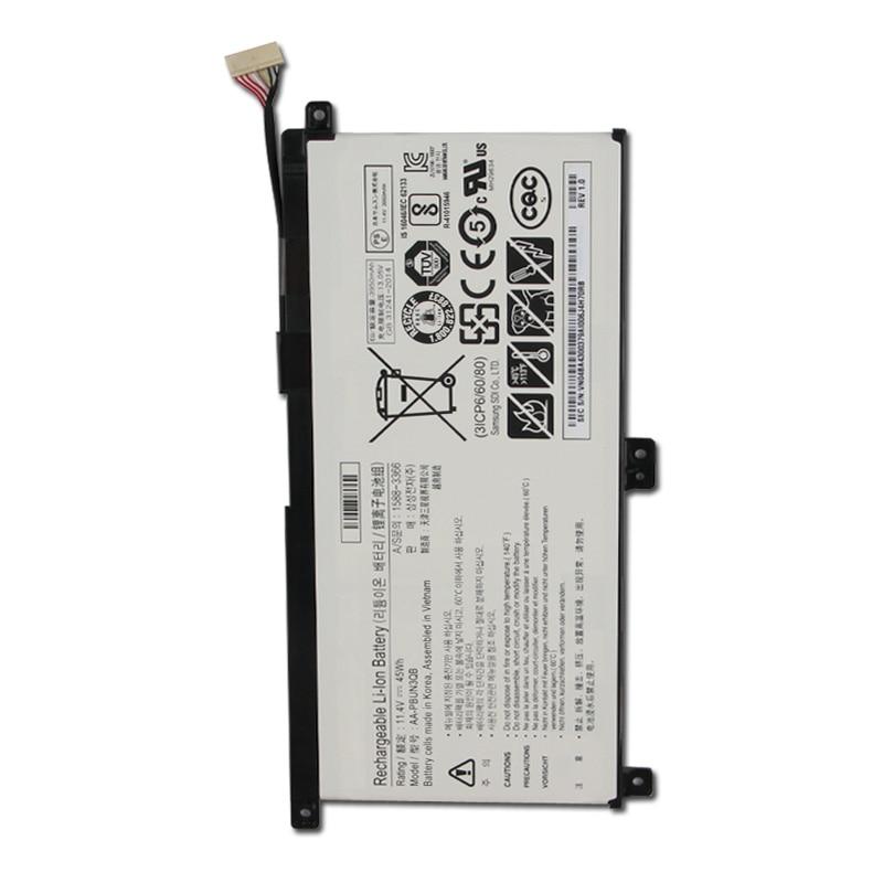 Original Replacment Battery AA-PBUN3QB AA-PBUN3AB For Samsung Notebook 7 NP530E5M NP740U5L NP800G5M Batteries 3950mah with Tools enlarge