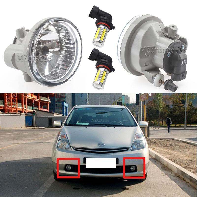 Pour Toyota Prius 2004-2009 LED antibrouillard antibrouillard pour Highlander Echo MR2 Spyder Scion xA antibrouillard