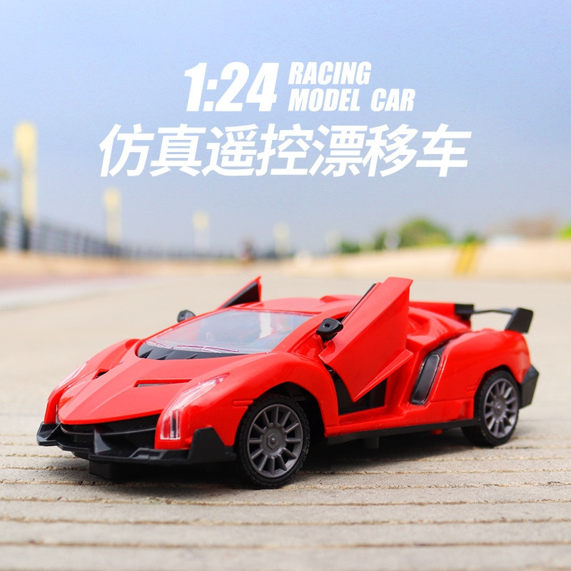 Children's Gift Toy Remote Control Car Five Pass One Key Door Opening Car High Simulation Racing Model Toy Car