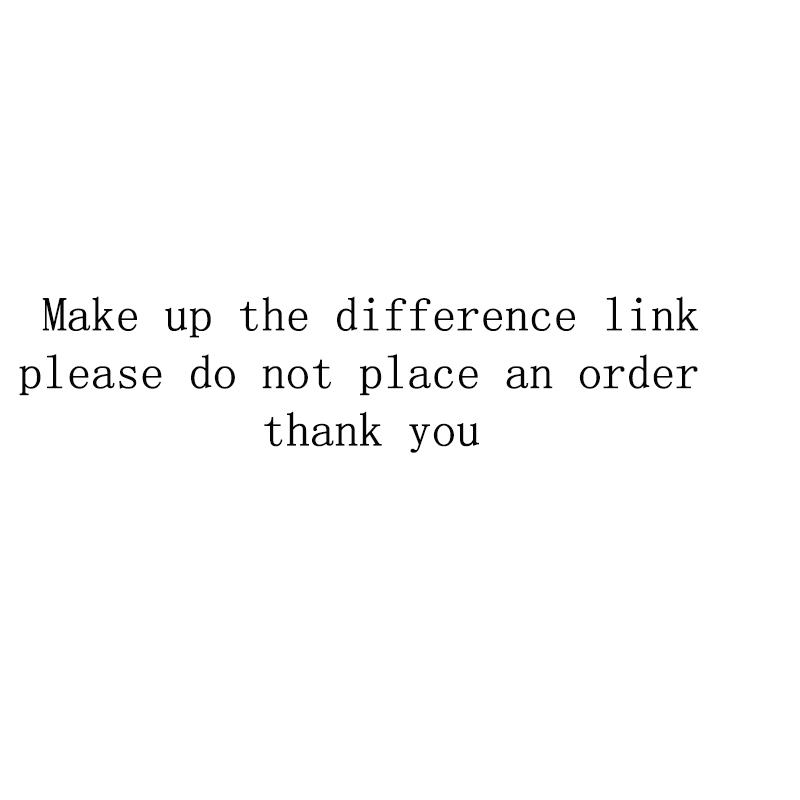 Make up the difference link, please do not place an order недорого