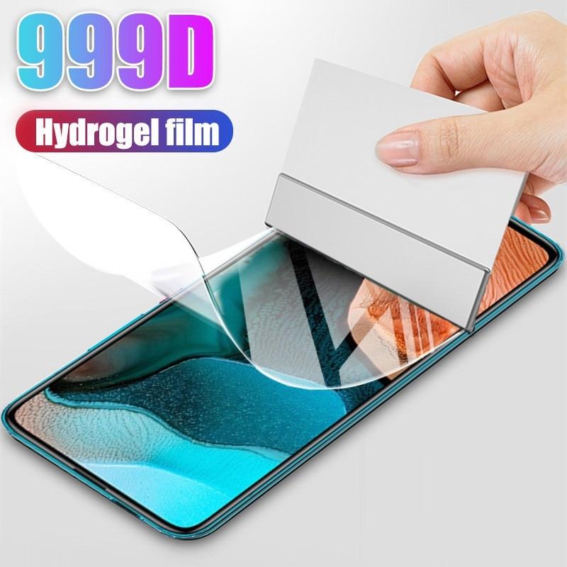 Film Hydrogel 2 en 1 pour Xiaomi, protecteur d'écran pour Redmi Note 9 Pro, Note 9, 4G, 5G, puissance 9A, 9C