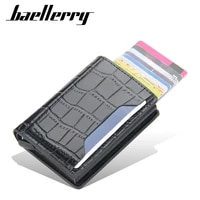 designer stone pattern trifold small card wallet mens rfid id credit card holder slim thin wallet fashion coin money bag male