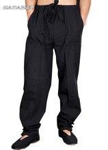Chinois Wushu Kung Fu pantalon Arts martiaux Tai Chi aile Chun pantalon 100% coton sport décontracté Tang costume pantalon