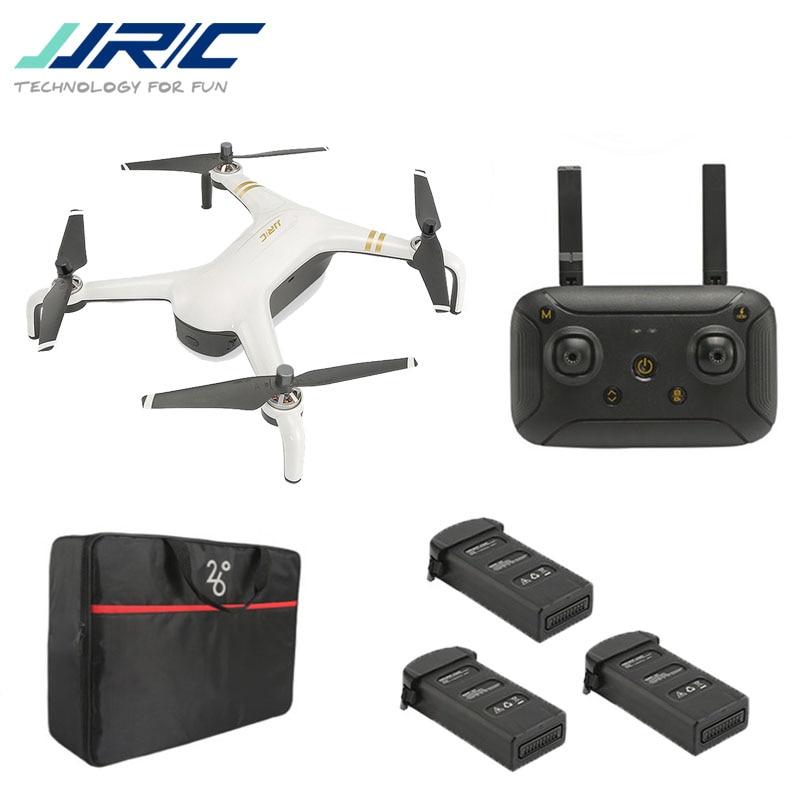 JJRC X7P 1 5G WI-FI INTELIGENTE KM FPV RC Drone Quadcopter Multicopter RTF Brinquedos Modelo 4K Câmera Dois -eixo Cardan Brushless Zangão RC Dron