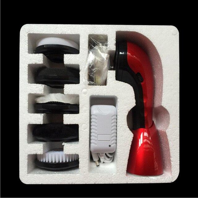 HA-жизнь Портативный ручной автоматическая электрическая щетка для обуви из Блестящий полировщик 2 способа Питание по уходу за кожей Инструменты Офис Применение Бытовая техника     АлиЭкспресс