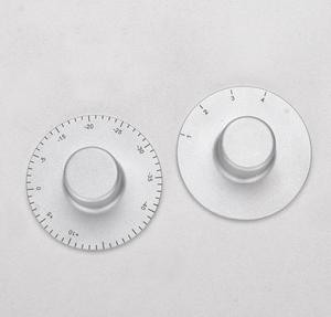 1pcs CELLO full Aluminum volume knob input switch choose knob diameter:50mm height:24mm