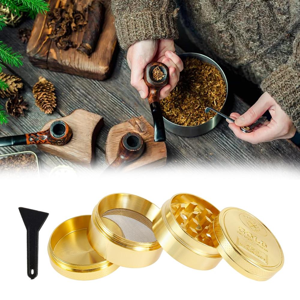 4-Layer Grinder Weed Crusher Smoking Accessories Spice Grass Tobacco Herb Grinder Pepper Metal Mill Machine DIY Cigarette Tools enlarge