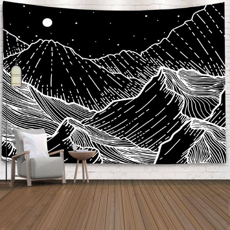 Psychedlic céu estrelado tapeçaria hippie quarto tapeçaria de parede pendurado cobertor arte decoração da sua casa/por