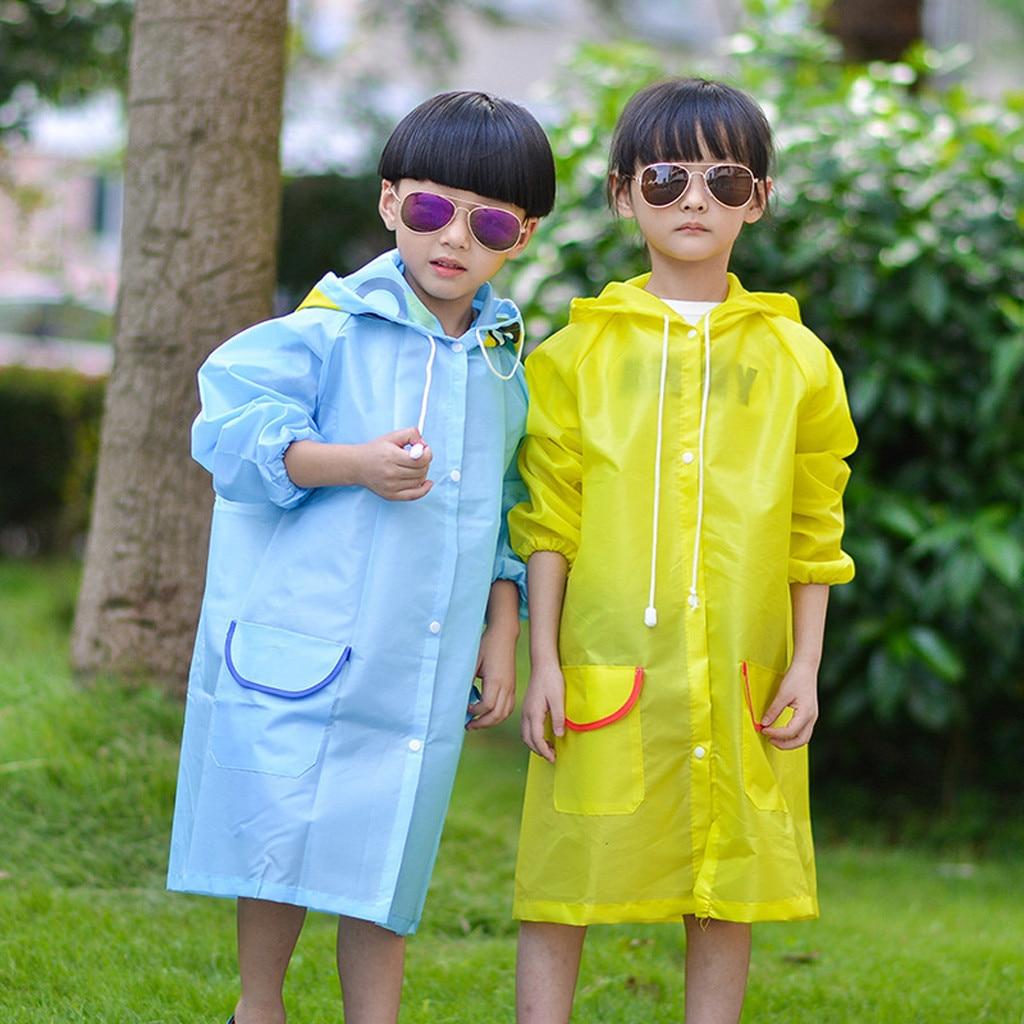 Chubasquero bonito de dibujos animados, impermeable de verano para chico, s, chicos, chicas, novedad, chaqueta de lluvia para niño, Chico, chica, impermeable con capucha, piloto de lluvia largo
