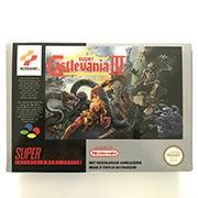 Super Castlevania IV avec boîte cartouche de jeu 16bit pour console pal