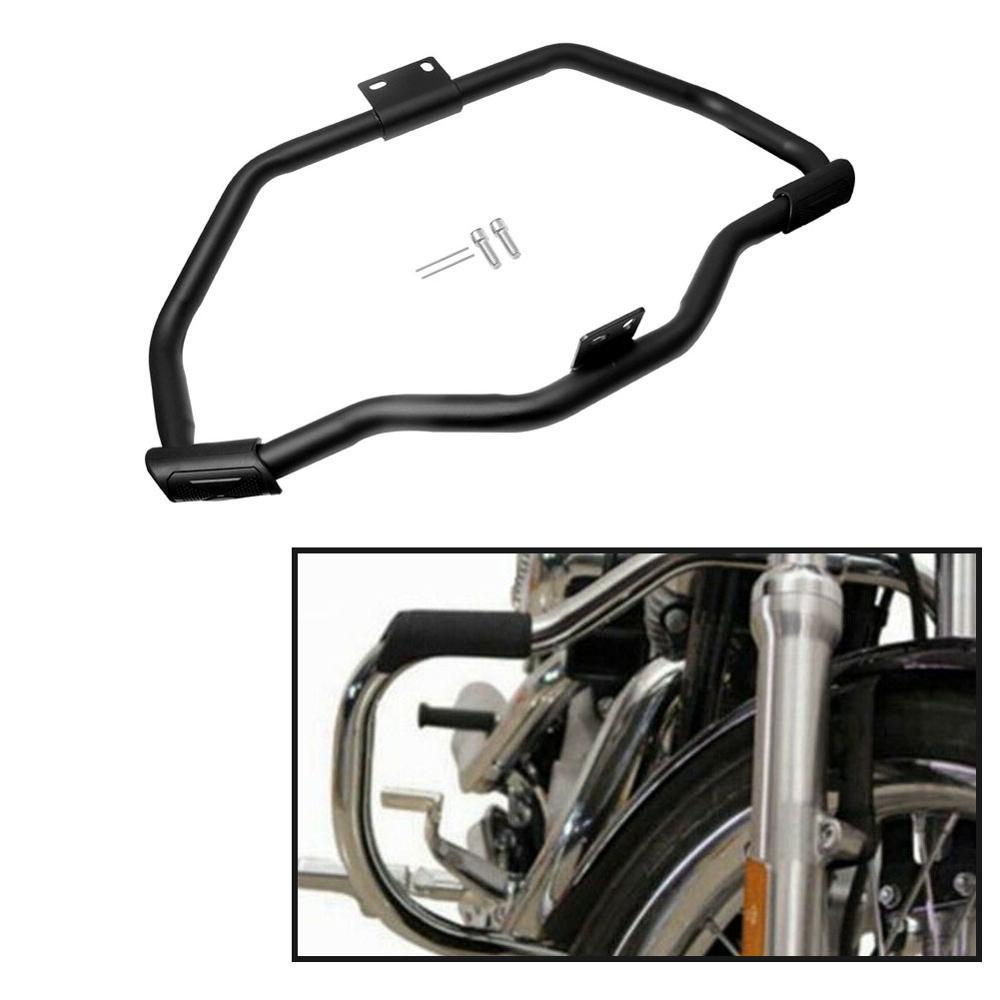 Nueva motocicleta bigote carretera Barra de choque motor protector para Harley Sportster XL883 1200 04-18 16