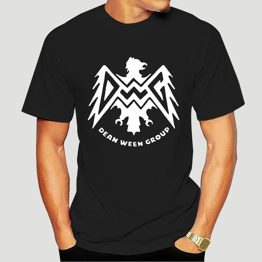 Camiseta negra para hombres prenda de vestir with estampado del grupo La...
