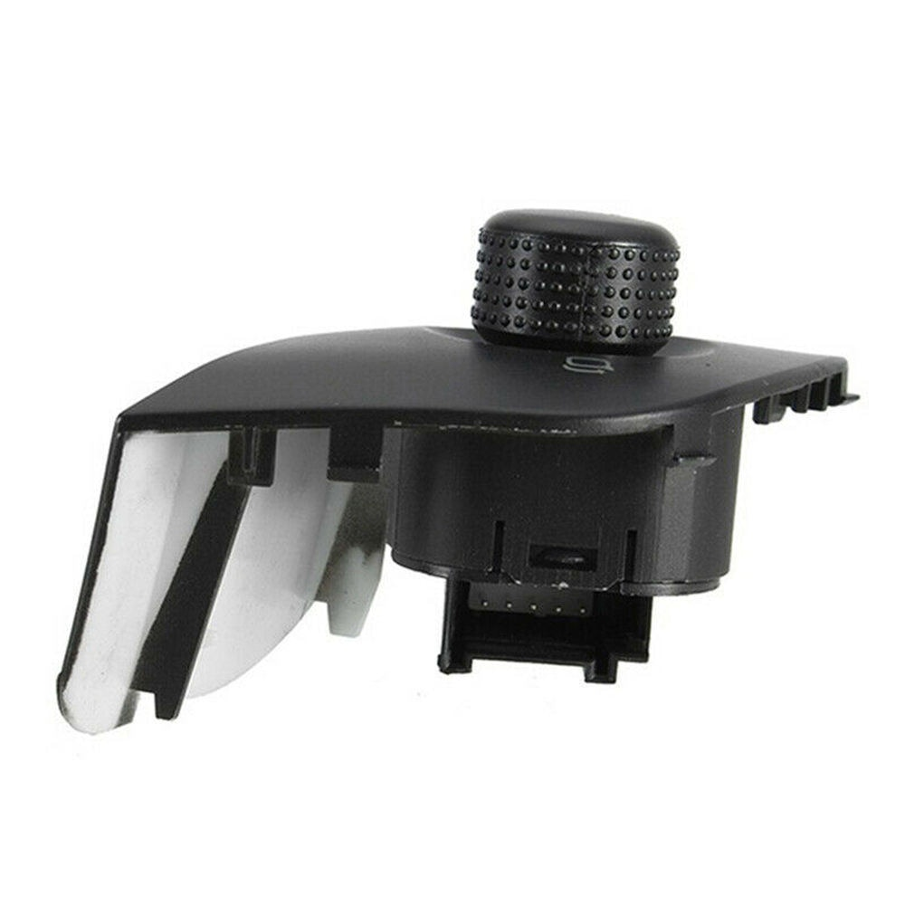Para seat ibiza 2009-2015 espelho lateral exterior ajustar interruptor de controle plástico abs