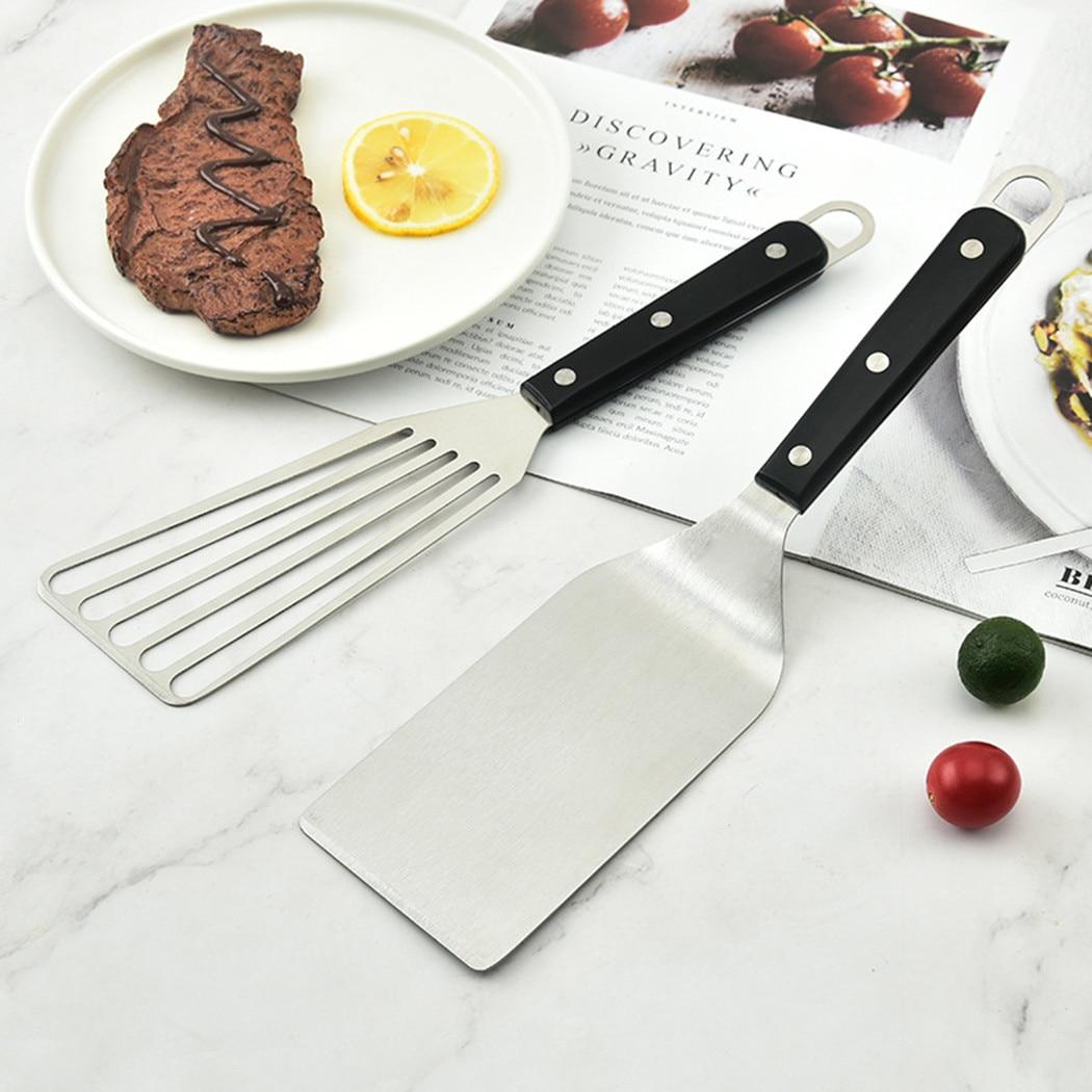 Лопатка для приготовления пищи, многофункциональная лопатка для жарки, лопатка для барбекю, лопатка для жарки оладий Teppanyaki, кухонные инстру...