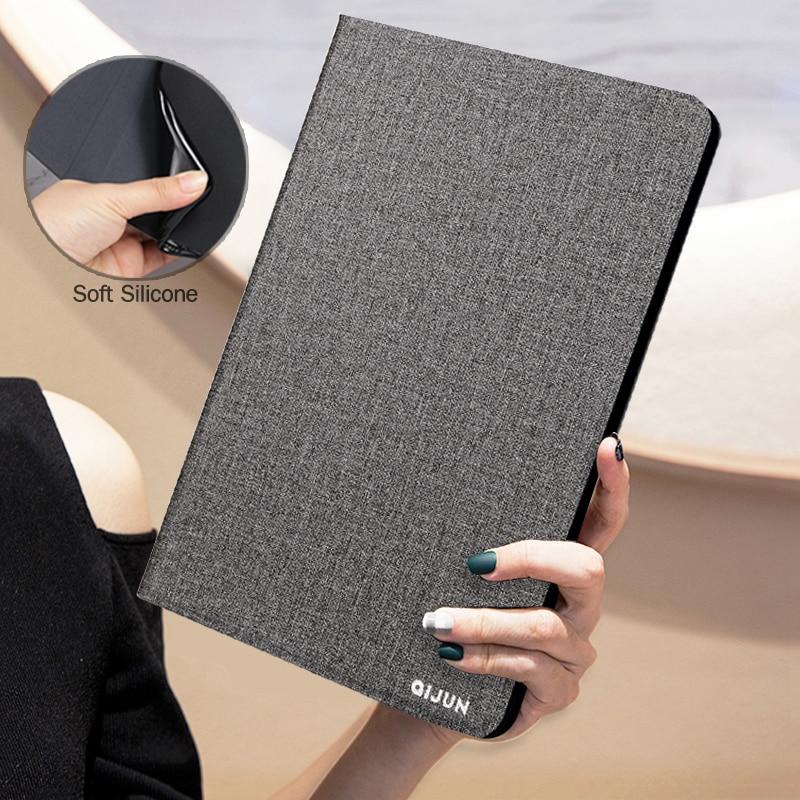 "Capa para huawei mediapad t3 10 9.6 ""AGS-L09 w09, capa retrô flip de couro pu para tablet, honor play capa protetora almofada 2 9.6"