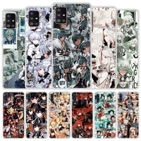 genshin impact game venti klee phone case for samsung galaxy a51 a71 a50 a21s a31 a10 a20e a41 a70 a30 a11 a40 a10s matte cover