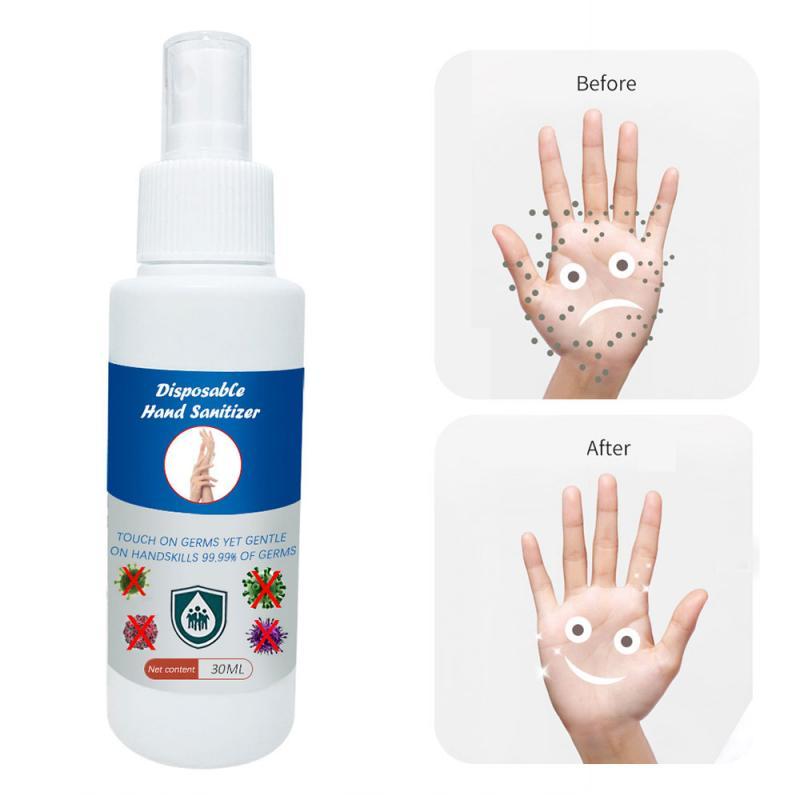 Gel desinfectante de manos portátil, espray de Gel desinfectante de manos sin...
