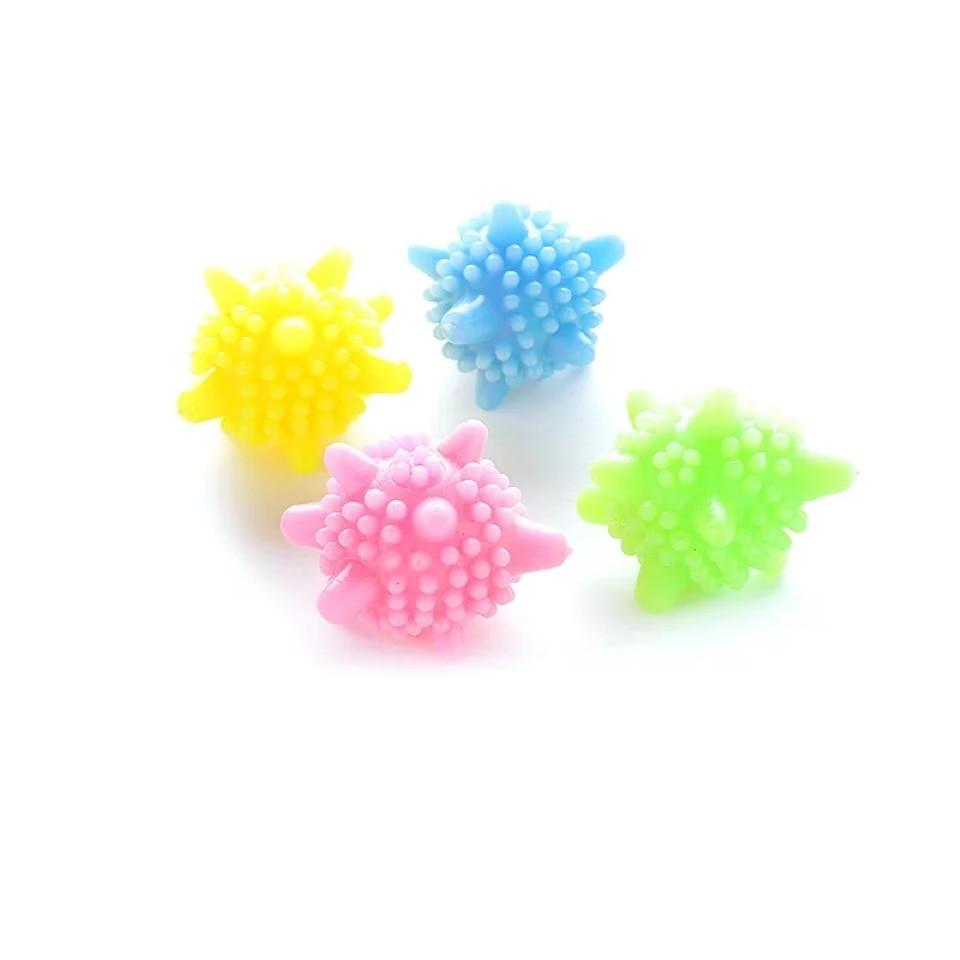 5 Pcs Starfish Shape Laundry ball Anti Winding Balls For Washing Super Strong Decontamination Washing Ball For Washing Machine