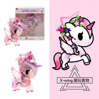 mystery box tokidoki starfairy pink unicorn is available in 3 inches blind box home decore kawaii accessories collectible gift