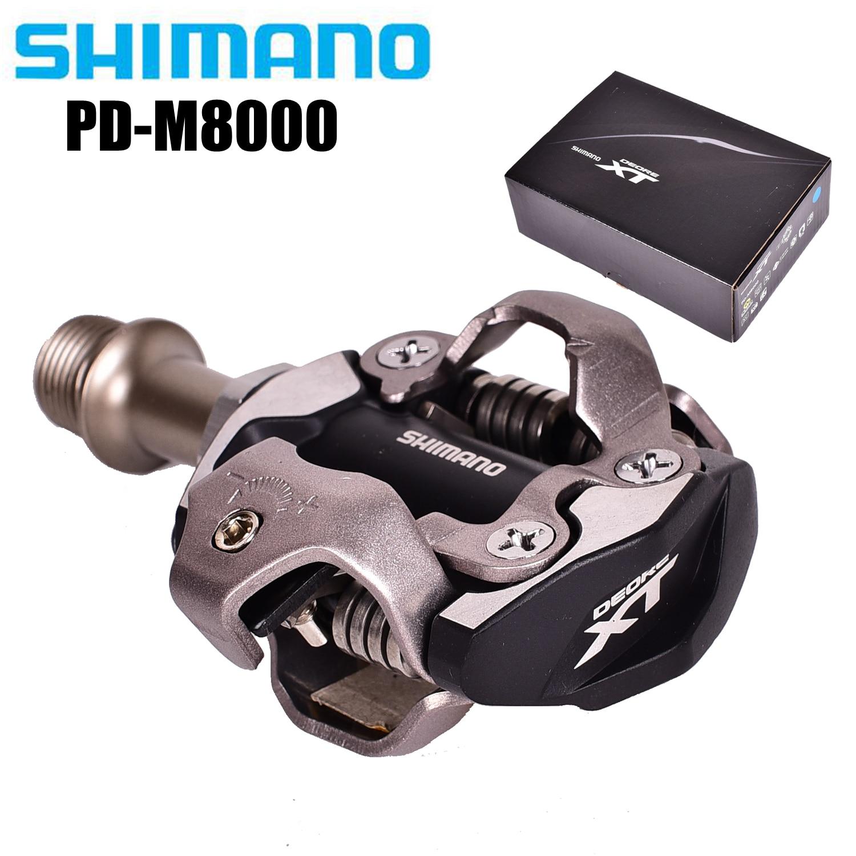 Pedales SPD autoblocantes XT M8000 M8020, componentes para bicicleta de montaña, accesorios...