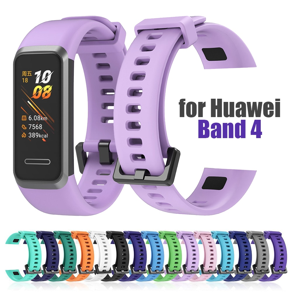 silicone-strap-for-huawei-band-4-watchband-band4-huawei4-straps-silica-gel-bracelet-de-montre-correa-de-reloj-pasek-do-zegarka