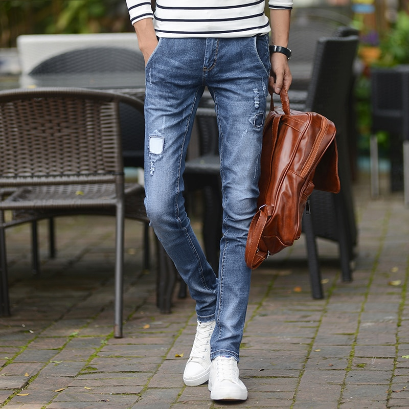Джинсы Slim Homme, облегающие джинсы, мужские джинсы, мужские брюки Slim, мужские брюки, мужские брюки, джинсовые брюки, удобные повседневные