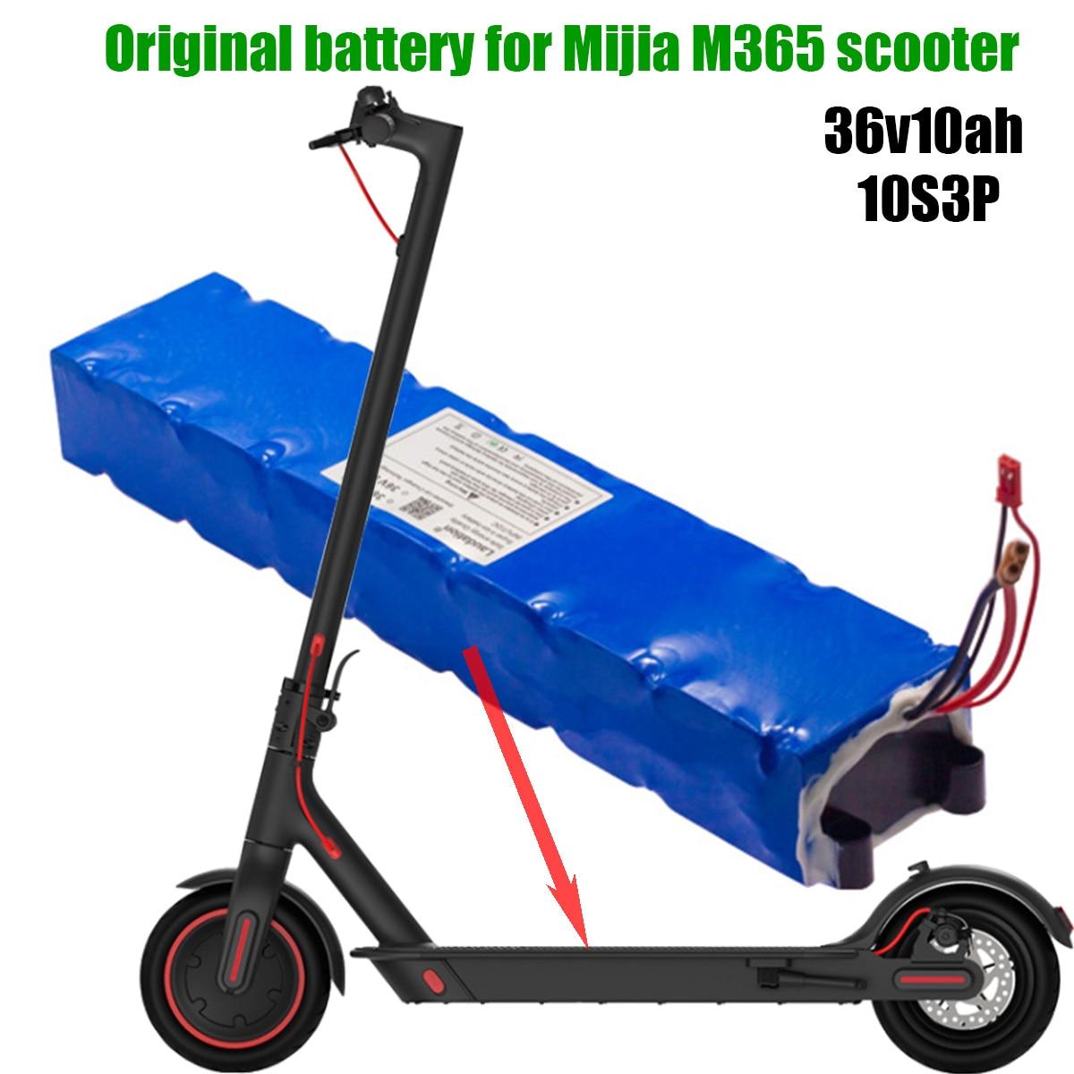 عالية الجودة سكوتر الكهربائية 10000mah بطارية ليثيوم 10s 3p الأصلي 36 فولت 10 Ah 18650 ل Mijia شاومي الذكية M365 امدادات الطاقة
