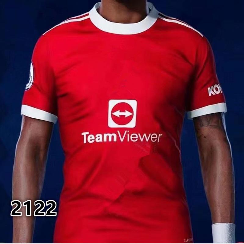 Top Quality new 2021-2122 manchester shirt united shirt RASHFORD POGBA GREENWOOD B.FERNANDES MARTIAL utd JAMES 21 22 shirt