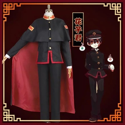 Traje de Cosplay de Anime Hanako-kun, Kawaii Yugi Amane Hanako-kun, uniforme de Escuela Militar, Unisex para hombres