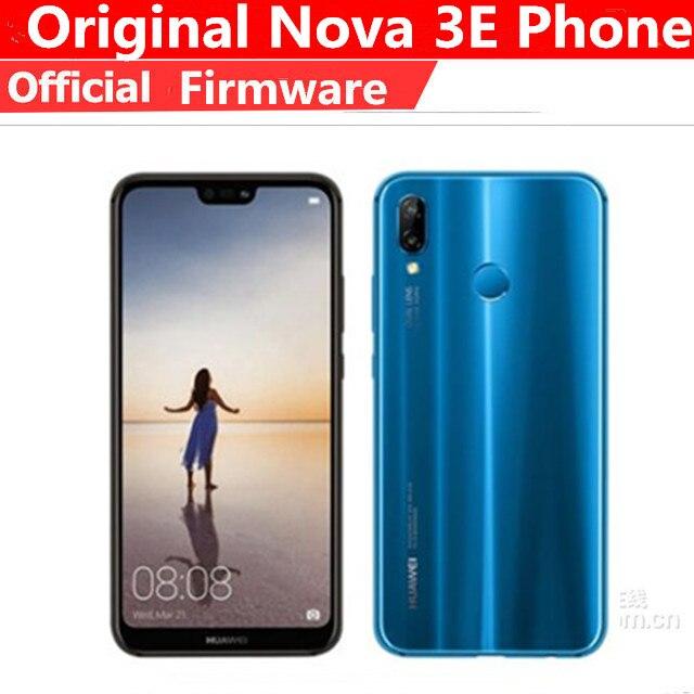 """Huawei p20 lite smartphone, rom internacional, 3e, 4g, lte, android 8.0, tela 5.85 """"2280x1080, 4gb ram id facial 24mp 128gb rom fm"""