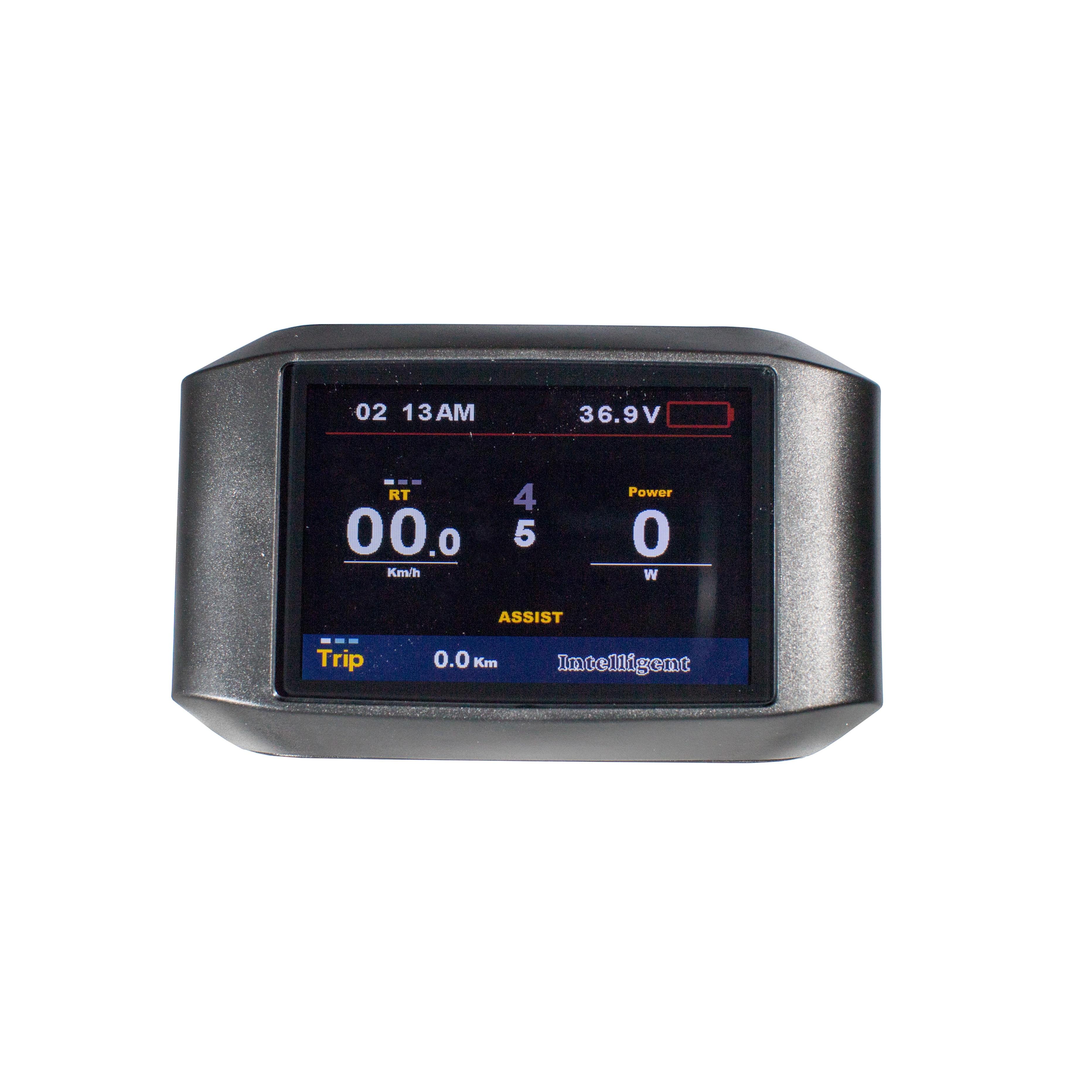 Greenpedel APT 750C TFT الاتصالات نقطة مصفوفة LCD دراجة كهربائية السلطة متر ل الدهون الاطارات دراجة كهربائية عدة