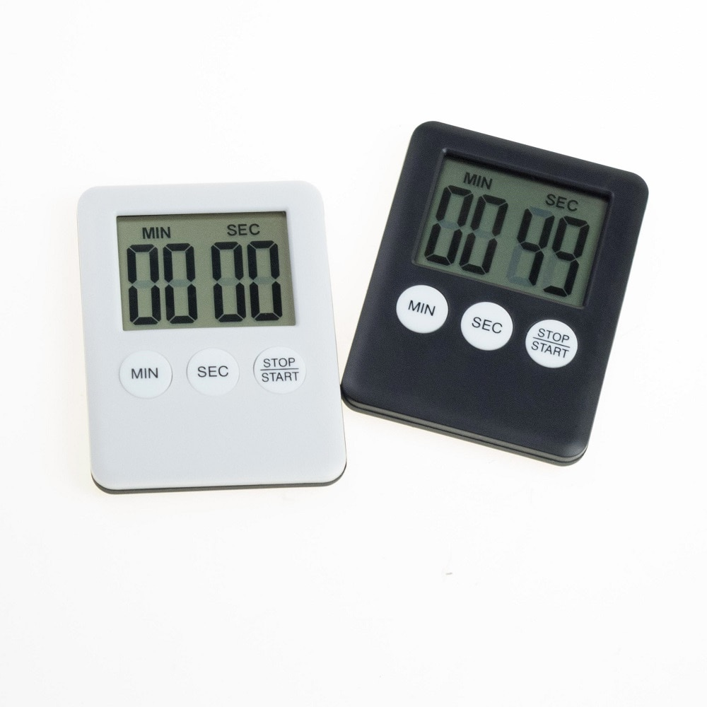 Large LCD Digita Kitchen Cooking electronic time Timer Count-Down Up Clock Alarm Magnetic home gadge