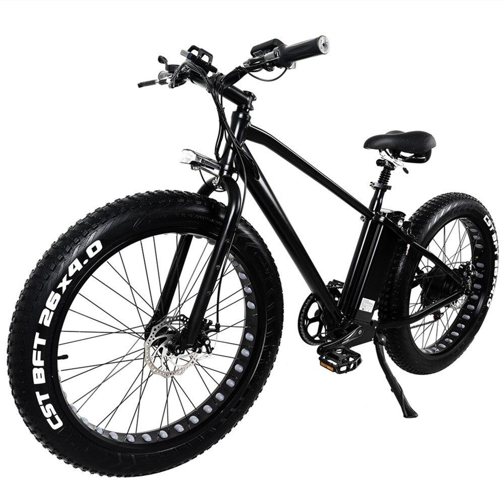 """Bicicleta Eléctrica KS26 26 """"15ah neumático de batería 4,0"""