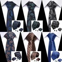 men shirt accesories new high quality mens ties gravatas dos homens tie set ties for men solid neckties