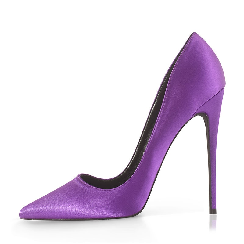 fragrantlily new women plus size big bow tie pumps butterfly pointed stiletto pointed toe woman wedding high heels shoes bowknot GENSHUO Women Pumps Pointed Toe High Heel 12cm Party Wedding Stiletto Heels Shoes Black Red Satin Plus Size 12 Zapatos De Mujer