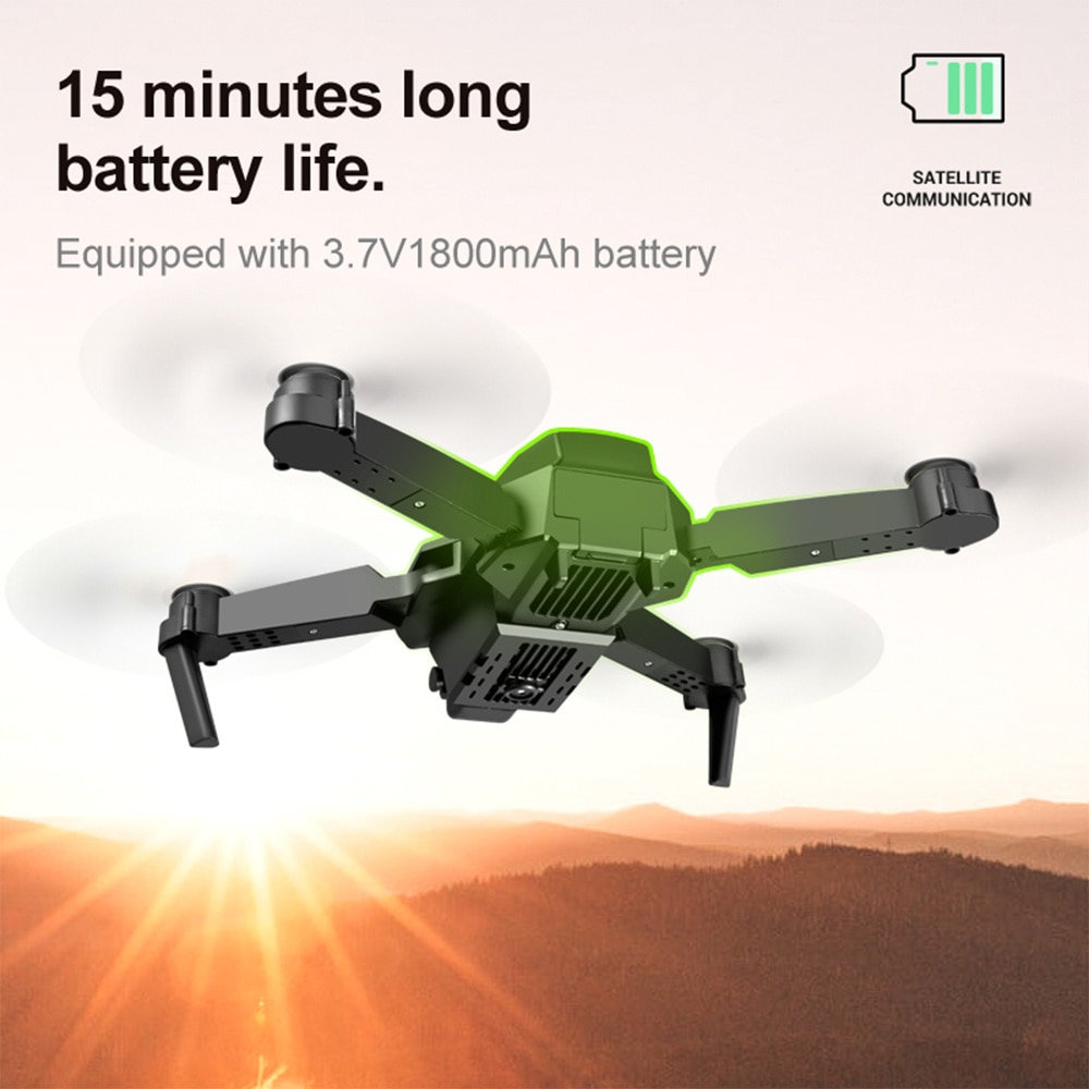 SHAREFUNBAY E88 pro drone 4k HD dual camera visual positioning 1080P WiFi  fpv drone  height preservation rc quadcopter enlarge