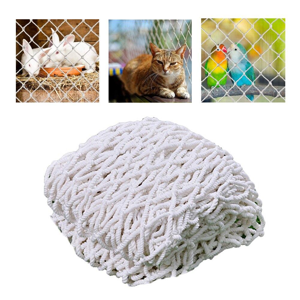 Сетка для безопасности кошек, нейлоновая защитная сетка против падения, сетка для домашних животных, забор для балкона, окна, лестницы, дети,...