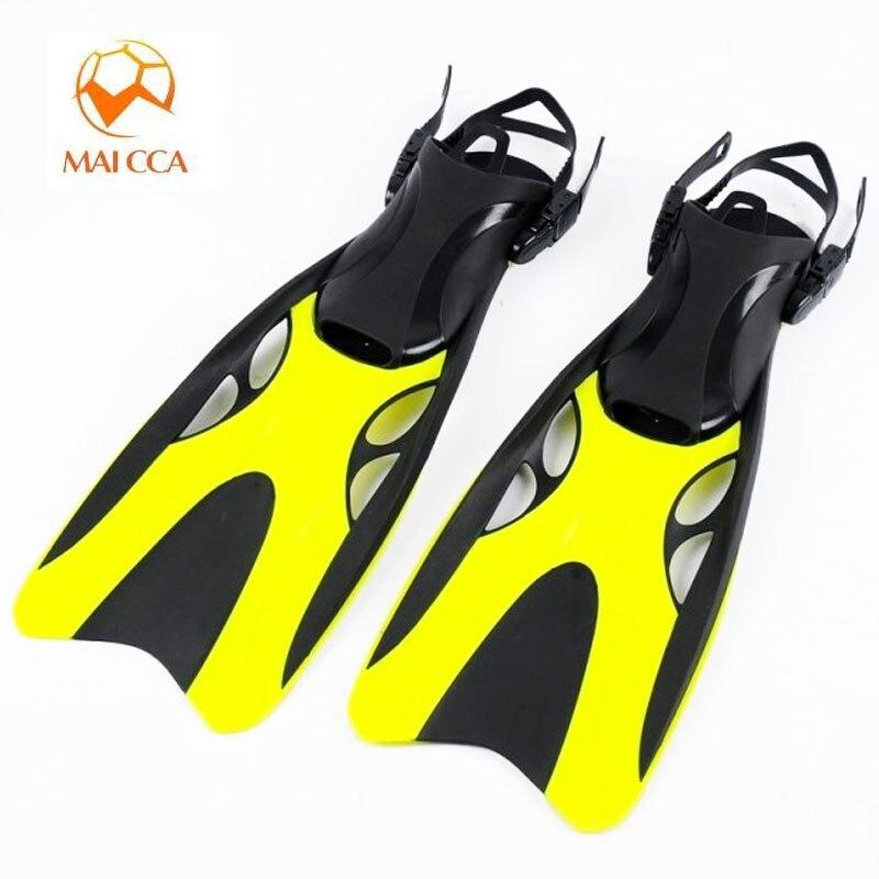 المهنية الغوص زعانف للغطس الكبار قابل للتعديل أحذية السباحة سيليكون طويل غاطسة الغوص القدم المنوفية الغوص الزعانف