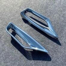 لكزس RX RX350 RX450 2020 صب الملحقات سيارة الجبهة الضباب أضواء الديكور الضباب مصباح غطاء إطاري تقليم ABS كروم