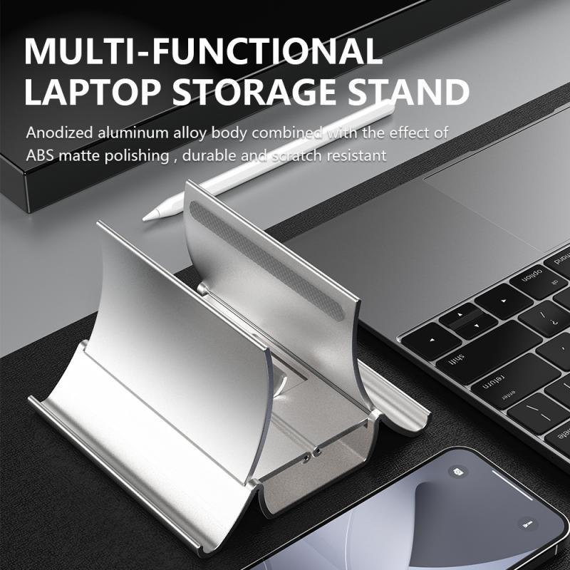 Suporte universal do computador portátil do telefone móvel para o iphone huawei samsung tablet computador suporte de armazenamento por gravidade para o portátil