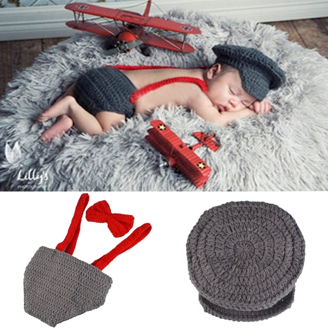 Crothet Newborn Photography Props Knitted Photography Accessories Baby Boys Girls Costume Newborn Photographie 42 Model Optional 10