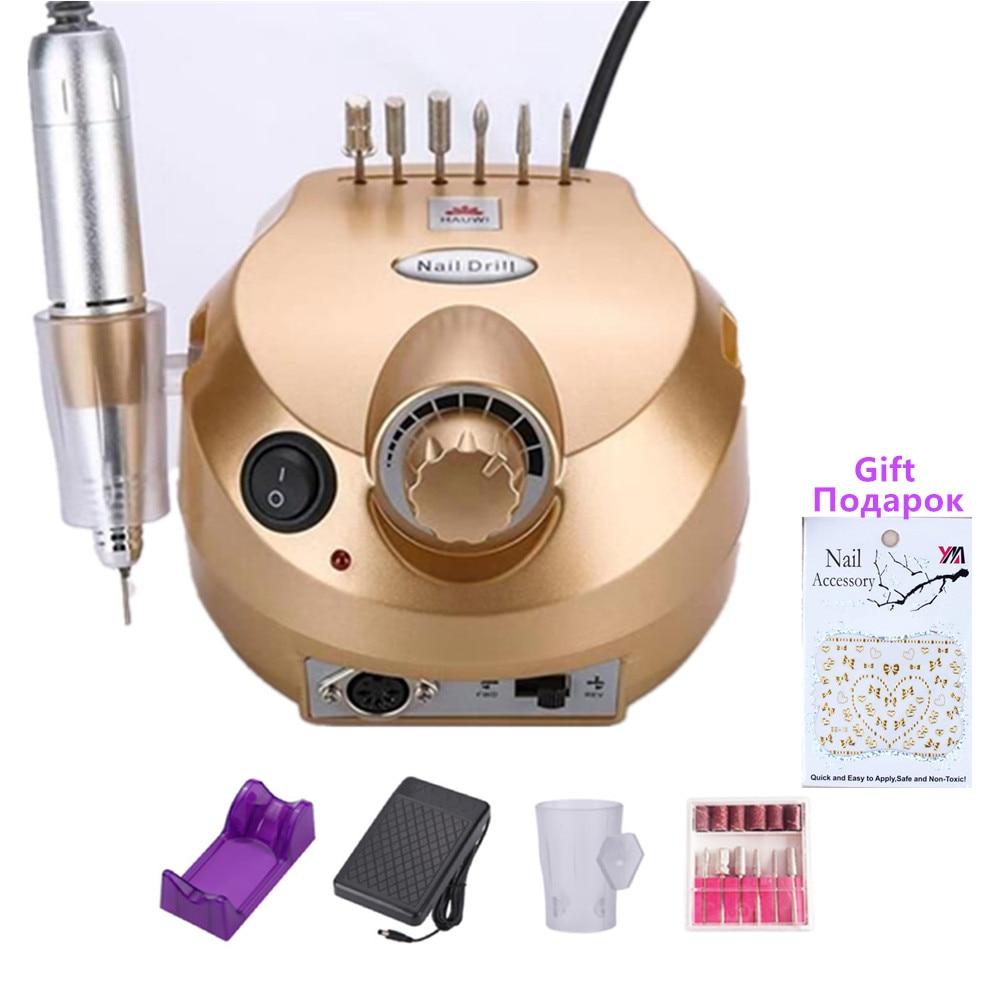 35000 rpm frustracao de unhas eletrica profissional kit de arquivos de manicure e