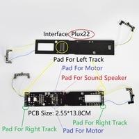 DCC מתאם לוח עבור קטר לשדרג עם צליל אור דיגיטציה כדי dcc רכבת לבנות עם Plux22 ממשק