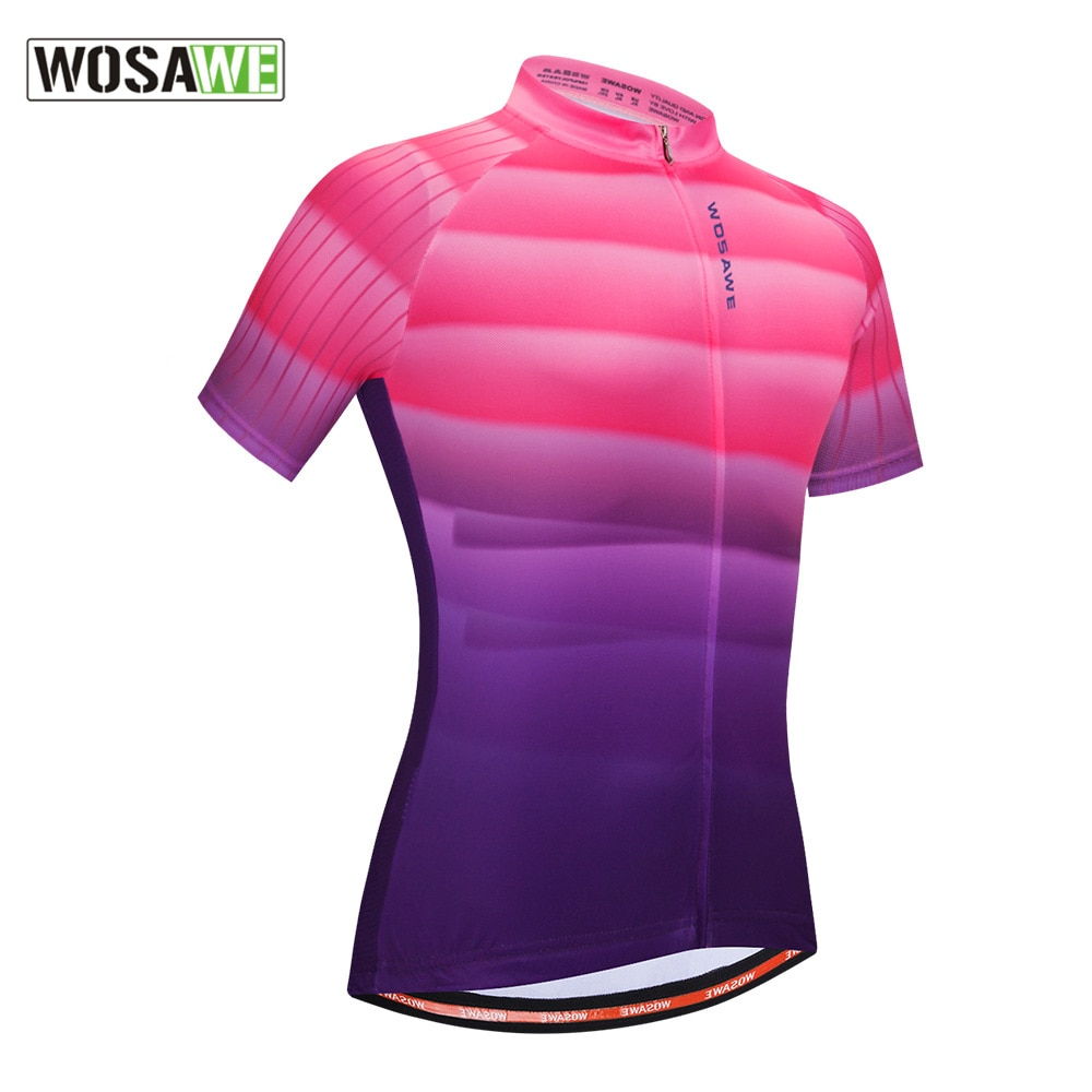 WOSAWE Summer Men's Motorcycle Tops Jerseys Short Sleeve Shirts MTB Bicycle Jersey Motorbike Clothing Wear Ropa Maillot Ciclismo enlarge