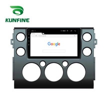 Octa Core Android 10.0 Car DVD GPS Navigation Player Deckless Car Stereo For Toyota FJ CRUISER 2007-2013 Radio Headunit