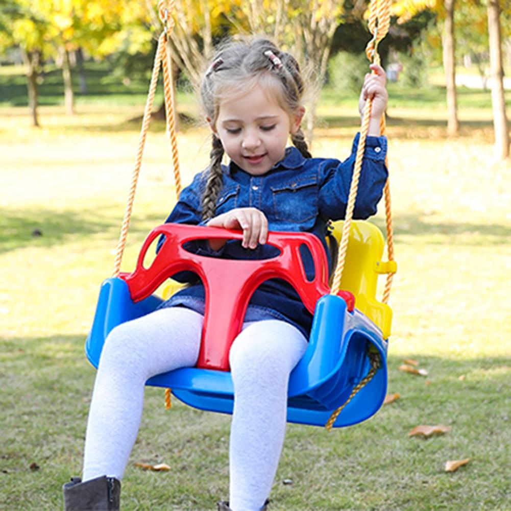 Детские веревки качели домашние трехв-1 детские качели развлекательные аксессуары набор уличных игрушек интерактивное кресло